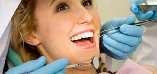 woman in dental clinic
