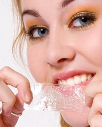 woman with good teeth