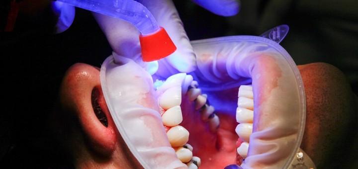 man in dental clinic
